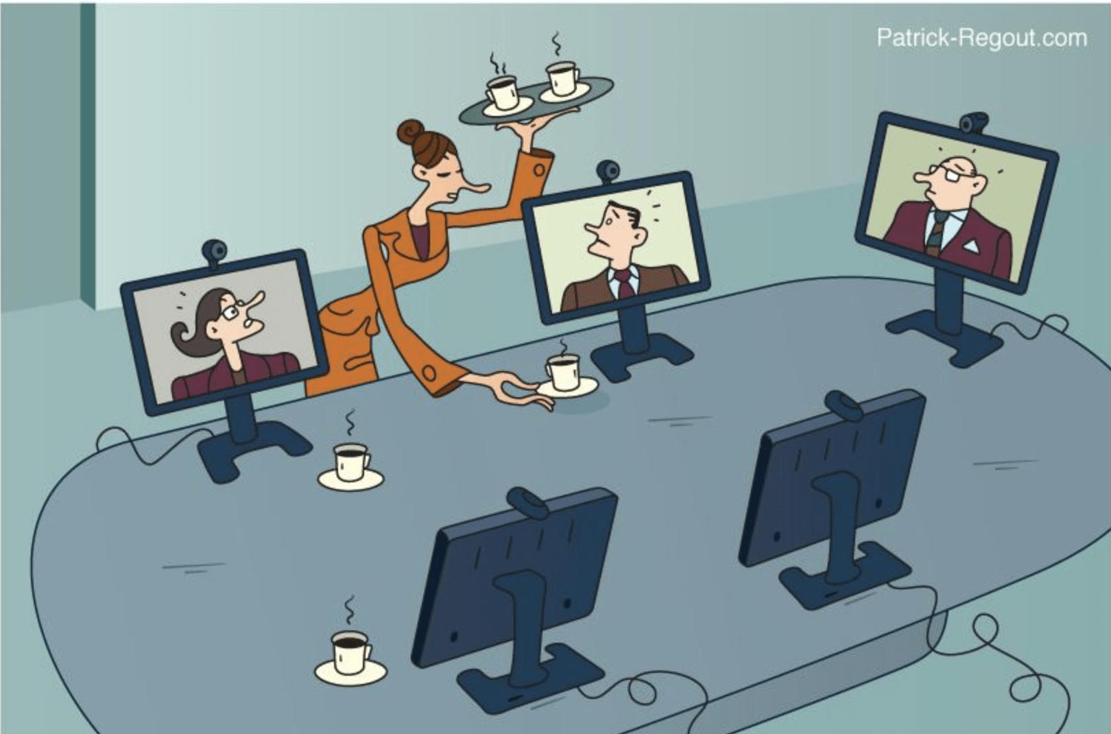La vidéoconférence peut-elle remplacer toutes les réunions ?