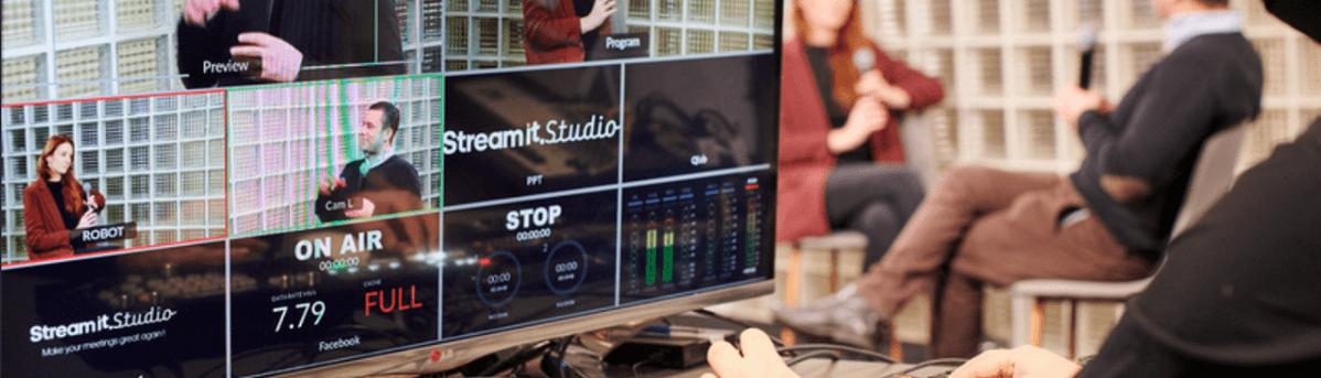 Stream It Studio : Live streaming studio chez Seed Factory