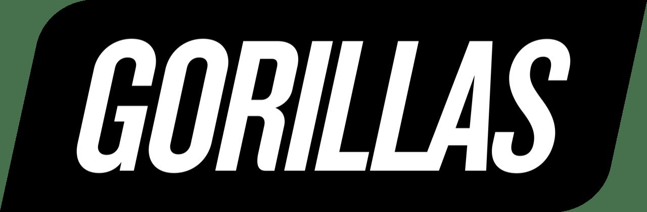 gorillas logo black rgb